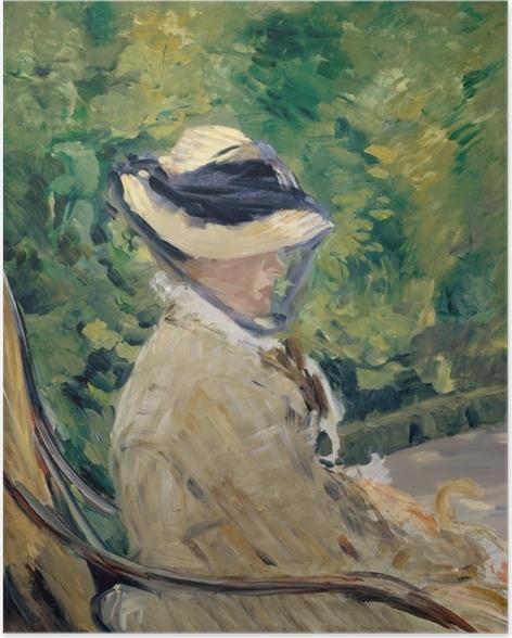 Póster Madame Manet - Impresionismo