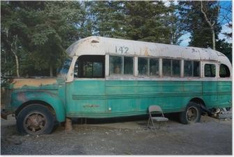 Poster Magic Bus 142 uit de film Into The Wild
