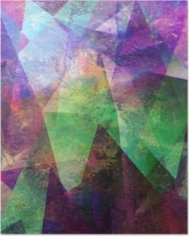 Póster Malerei graphik abstrakt
