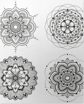 Poster Mandala set