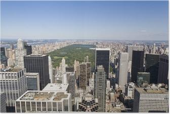 Manhattan From High Viewpoint Poster