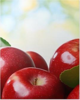 Póster Manzanas frescas