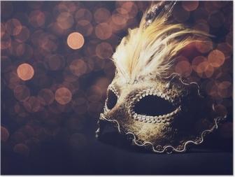 Poster Masque venitien