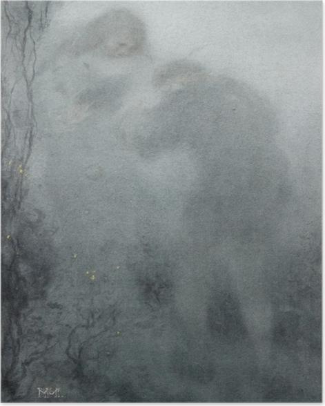 Poster Matthijs Maris - Figures dans les bois - Reproductions