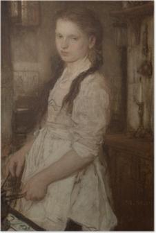 Poster Matthijs Maris - Het keukenmeisje