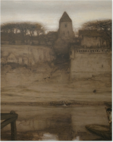 Poster Matthijs Maris - Saint-Ouen - Reproductions