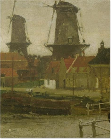 Poster Matthijs Maris - Un coin de la Haye - Reproductions