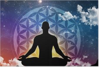 Meditation night Poster