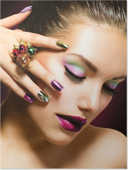 Poster Mode Beauty Manicure En Make Up Nail Art Pixers We
