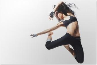 Poster Modern stil för dansare