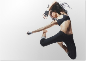 modern style dancer Poster