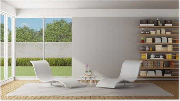 Poster Moderne woonkamer • Pixers® - We leven om te veranderen