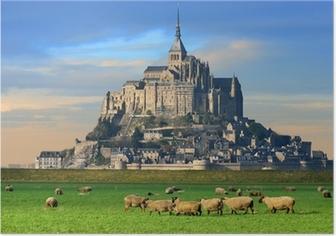 Poster Mont saint michel