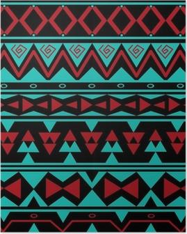Poster Motif tribal