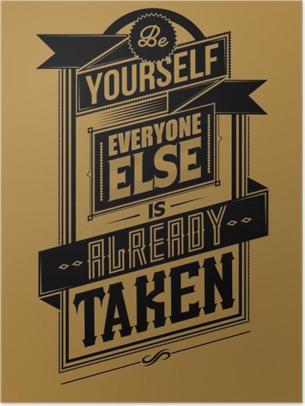 Poster Motivatie Poster -
