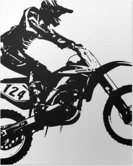 Poster MotoX Jump