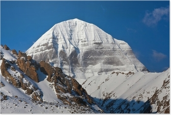 Poster Mount Kailash in Tibet