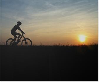 Poster Mountainbiker