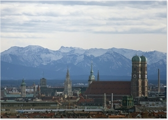 München Panorama Poster