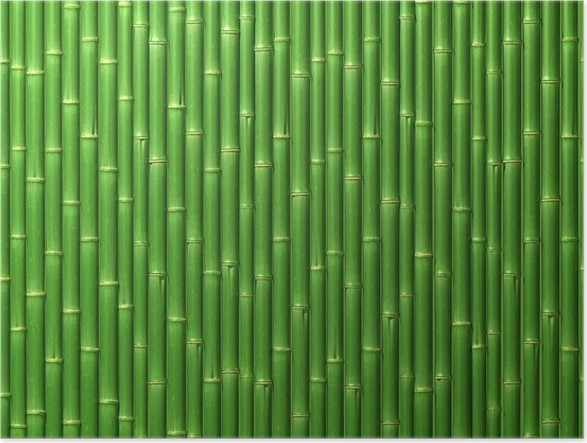 poster mur de bambou pixers nous vivons pour changer. Black Bedroom Furniture Sets. Home Design Ideas
