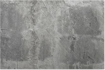Poster Mur de beton
