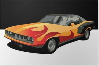 Poster Muscle car
