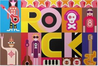 Poster Musique hard rock