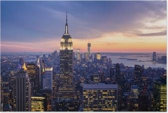 Póster New york city