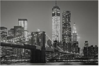 Poster New York de nuit