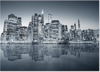 New York manhattan Poster