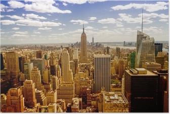 Poster New york skyline