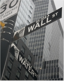 New York - Wall Street Poster
