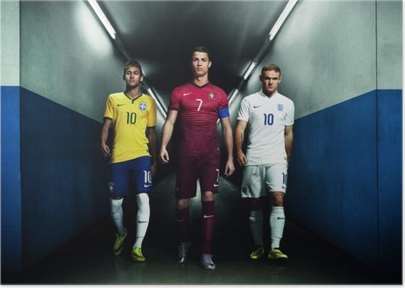 ab3f0c24 Neymar, Ronaldo, Rooney Poster • Pixers® - We live to change