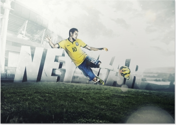 a17d30a4 Neymar Poster • Pixers® - We live to change