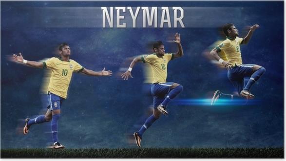 724f50d8 Neymar Poster • Pixers® • We live to change