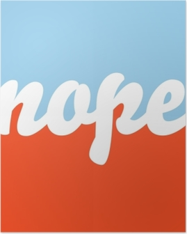 Nope Poster