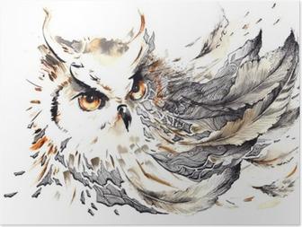 Poster Oiseau