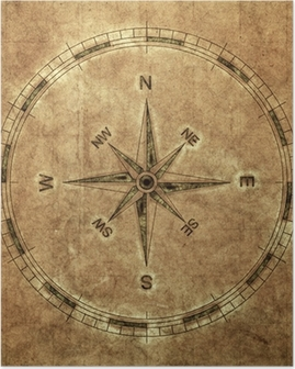 old compass Poster