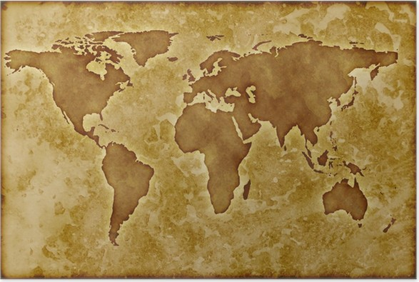 Old worldmap poster pixers we live to change old worldmap poster themes gumiabroncs Images