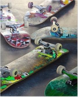 Poster Oude Skateboards