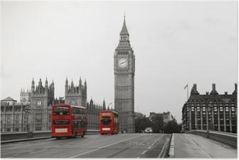Póster Palacio de Westminster