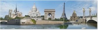 Poster Panorama Paris France