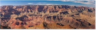 Panoramic Grand Canyon, USA Poster
