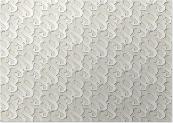 paragraf papier muster hintergrund weiss poster - Bastelpapier Muster