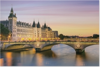 Poster Paris, Conciergerie