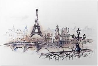 Poster Paris (reeks C)