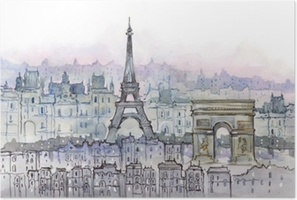 Poster Parisiens