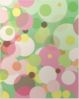 Póster Pastel Dots