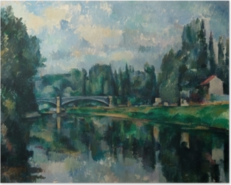 Poster Paul Cézanne - Les Bords de la Marne