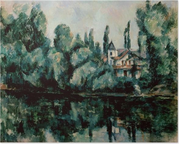 Póster Paul Cézanne - Los bancos del Marne - Reproducciones